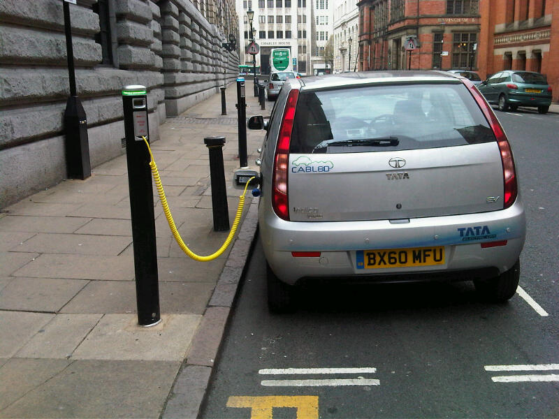 Electric Car Plug In Stations Uk